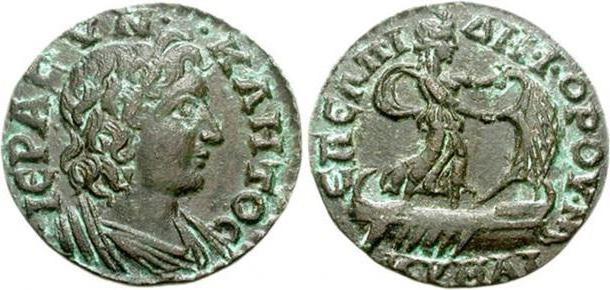 Античные римские монеты