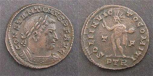 Медные римские монеты