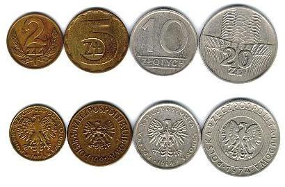 Монеты Польши серебро