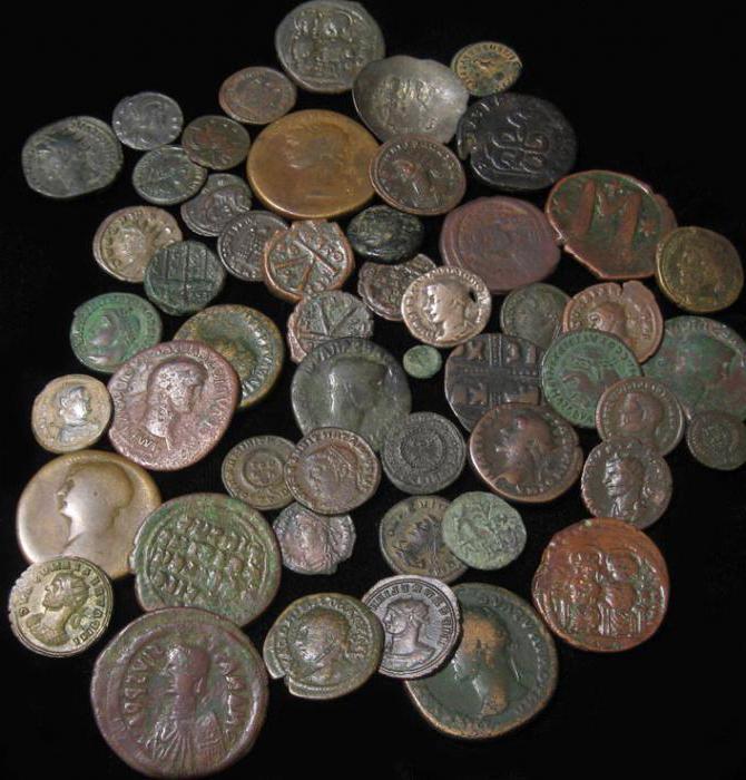 Римские монеты фото
