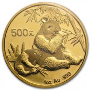 Монета «китайская Панда»
