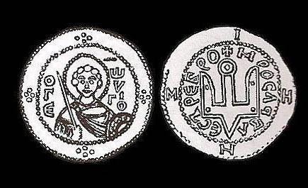 Монеты древней Руси фото