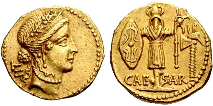 Римские золотые монеты