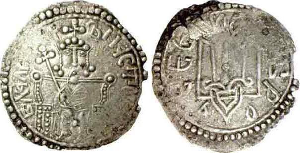 Серебряные монеты Древней Руси