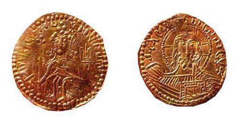 Золотые монеты древней Руси